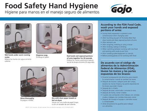 servsafe 3 compartment download a free gojo food safety hand hygiene poster nichols