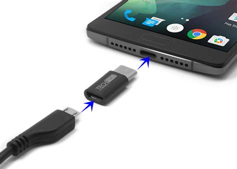 techmatte usb c to micro usb adapter for oneplus 2 nexus