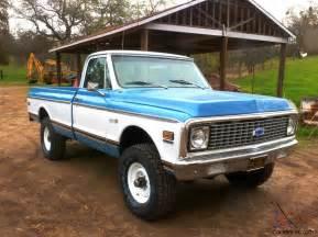 cheyenne 4x4 chevrolet truck 1971 classic
