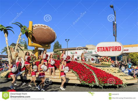what do american in california rose for new year parade at pasadena california usa january 1 2016 editorial image image 64550975