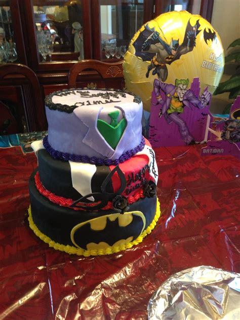 Joker Harley Quinn And  Ee  Batman Ee   Cake Cakes