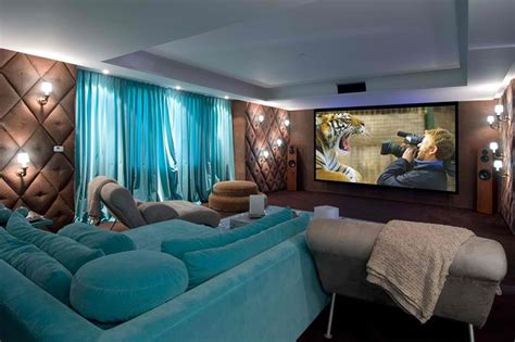home theater decor 20 stunning home theater rooms that inspire you decoholic
