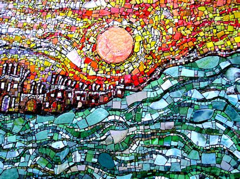 mosaic pattern meaning smalti mosaic cityscape where hot meets cool glascow