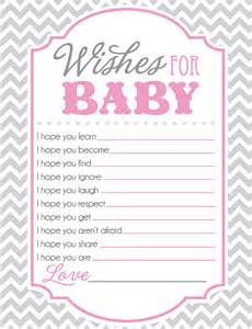 baby shower sheet for wishes for baby i you