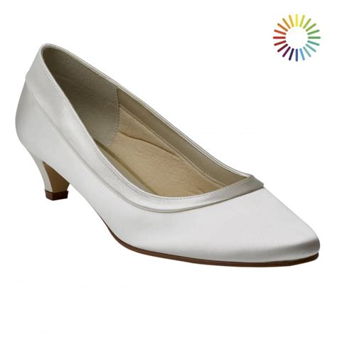 Rainbow Schuhe Ivory by Rainbow Club Bea Ivory Satin Court Shoes Free Returns At