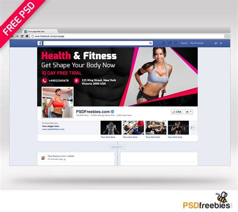 templates bodybuilder for photoshop download health and fitness facebook cover psd download download psd