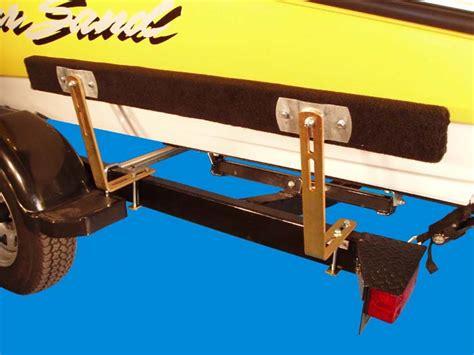 jon boat trailer bunks boat trailer guides bunk guide ons 4 ft long ve ve inc