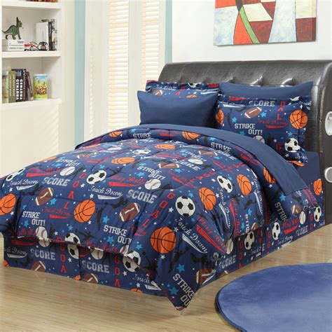 nhl draft 2 comforter set football soccer basketball baseball baby toddler bedding