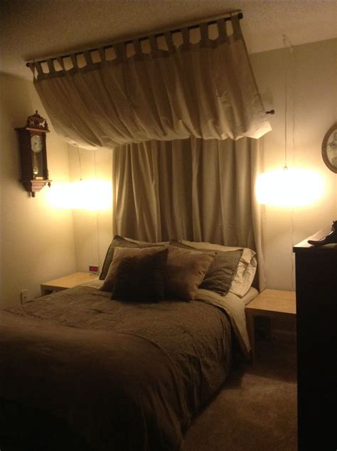 curtains for headboard 15 best images about curtain headboard on pinterest