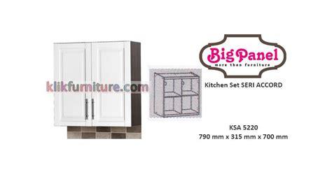 Kitchen Set Atas kitchen set atas 2 pintu ksa 5220 accord bigpanel