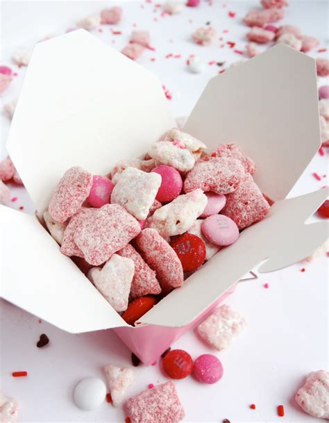 valentines puppy chow s day strawberries and puppy chow