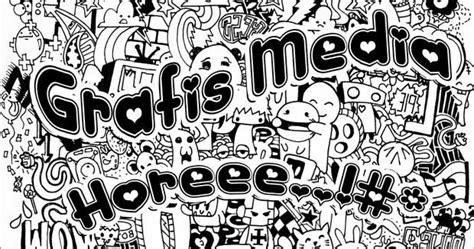 doodle untuk mading contoh aplikasi desain grafis untuk pemula gandeng