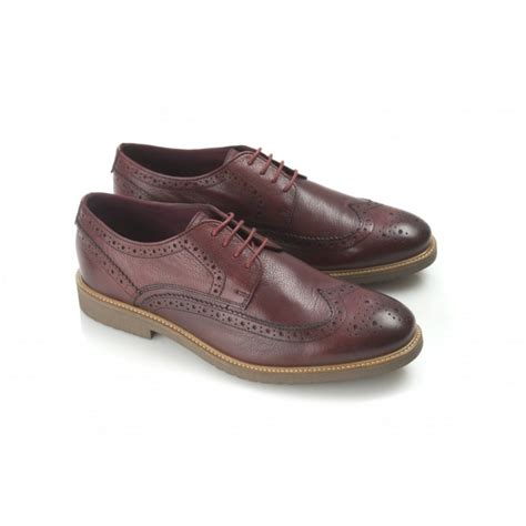 mens burgundy sneakers ikon almond mens brogue shoes burnished burgundy buy