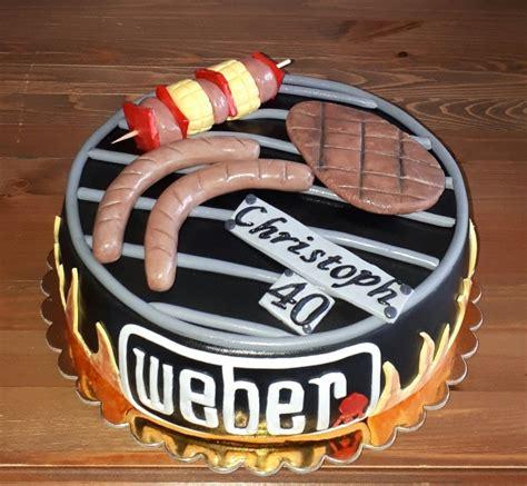 Weber Kuchen weber grill torte fondant torte in 2019