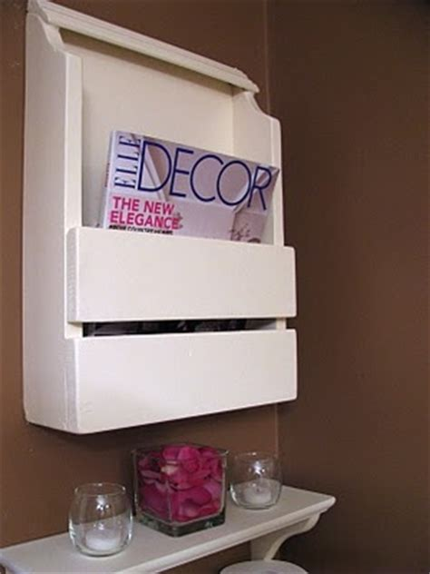 diy magazine holder for bathroom 10 best images about magazine rack for bathroom on