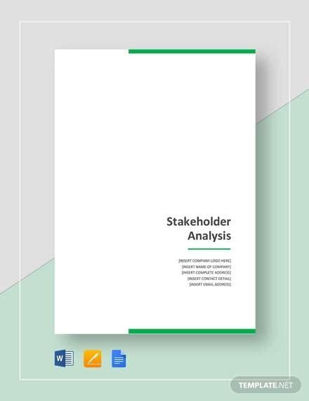 Free 10 Stakeholder Analysis Samples In Google Docs Ms