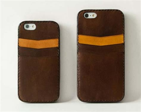 Handmade Leather Iphone Cases - the handmade leather iphone 6 plus and iphone 6 cases