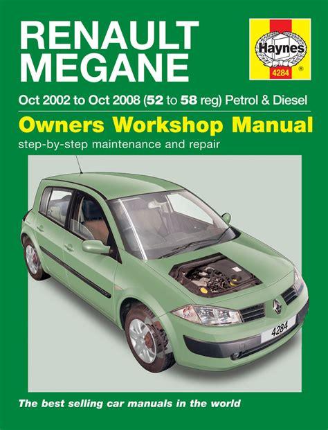 what is the best auto repair manual 2001 cadillac eldorado on board diagnostic system haynes manual 4284 renault m gane petrol diesel 02 to 08