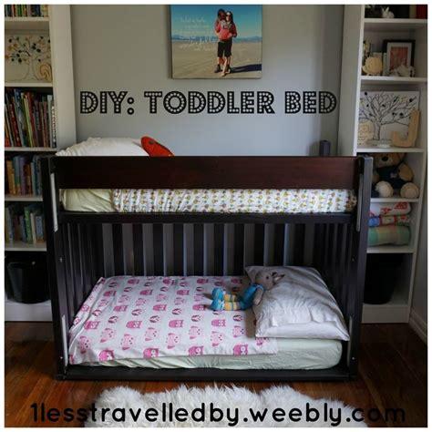 Loft Bed For Toddler by Diy Toddler Bunk Bed 1lesstravelledby Weebly Comliving
