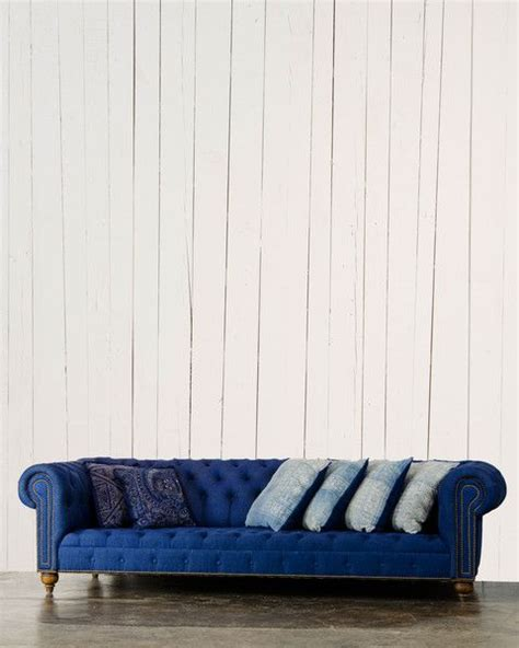 cobalt blue sofa trends interiors house ideas