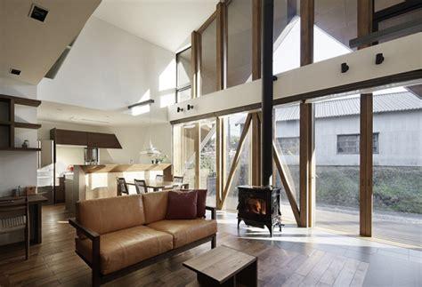 Lukis Kaca Mininalis contemporary origami house adorable home