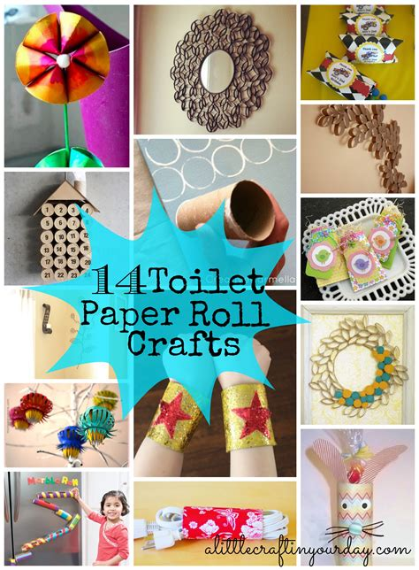 Toilet Paper Crafts - 14 toilet paper roll crafts a craft in your day