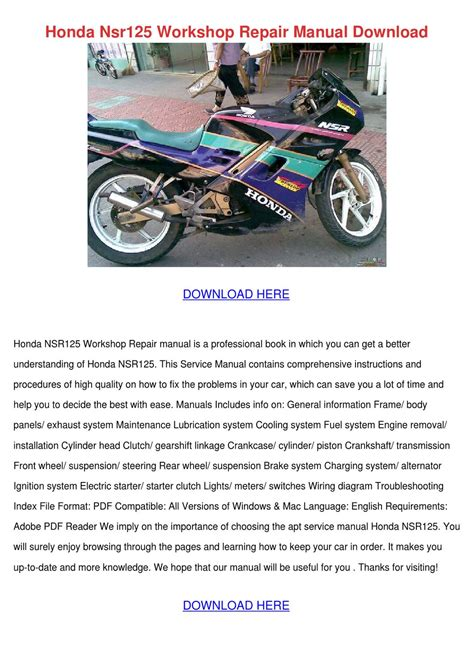 honda nsr wiring diagram honda atv diagrams wiring diagram