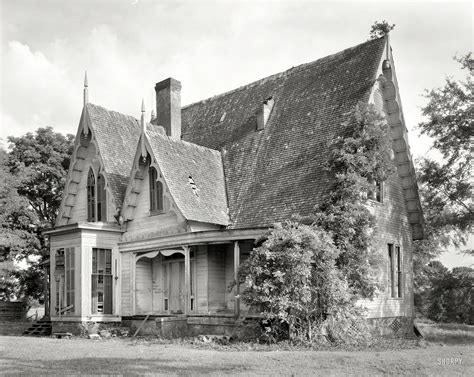 Gothic Revival House Plans by Shorpy Historic Picture Archive Carpenter Gothic 1939