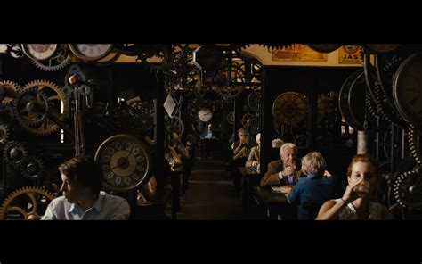 Astronomical Wall Clock clock restaurant in europe from the movie quot best offer quot