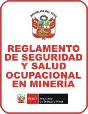 nuevo decreto 024 mineria peru nuevo reglamento de seguridad y salud ocupacional