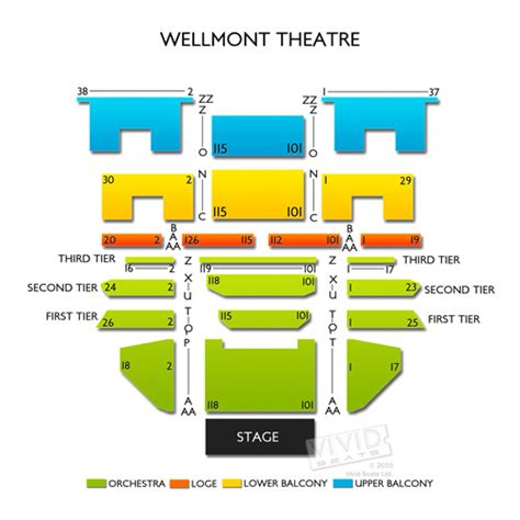 wellmont theatre seating view wellmont theater seating chart seats
