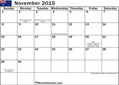 printable monthly planner november 2015 9 best images of printable november monthly schedule