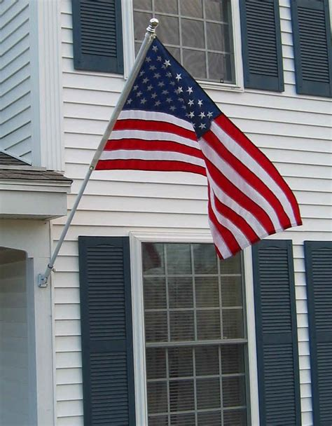 Flag House by House Poles House Mounted Poles Spinning Pole Spinning