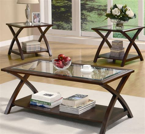 Coffee Table Sets For Cheap Kinds Of Glass Coffee Table Sets
