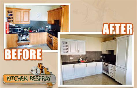 respray kitchen cabinets kitchen respray irelands all surface respray