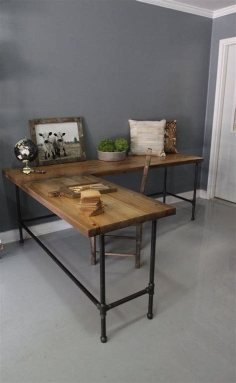 28 Stylish Industrial Desks For Your Office Interior Industrial Home Office Desk