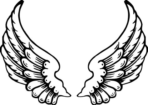 Sayap Wings Sayap Bidadari 45x35cm black wing clip at clker vector clip