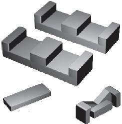 planar inductor transformer pei fey type ferrite planar ferrite planar pei cores ferrite inductors