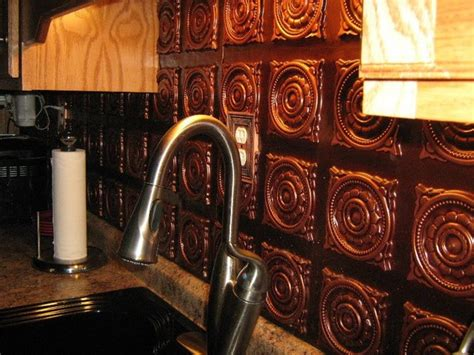 antique copper pvc decorative ceiling tiles backsplash