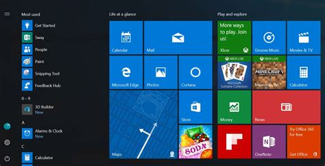 home design windows 10 windows 10 la prochaine build proposera un nouveau menu