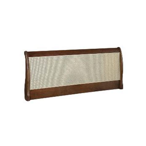 rattan headboard double newquay 4ft small double rattan headboard