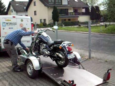 Motorradst Nder T V by Motomove Motorradanh 228 Nger Flexibel 2 Sicherer
