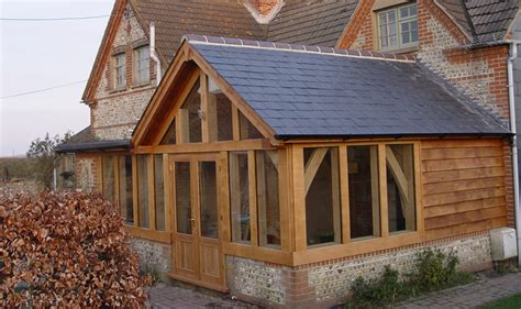 Cottage Roof Design Greatham Cottage Arch Collor Braced Truss Roof