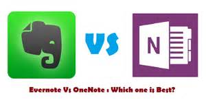 Home review evernote vs onenote which one is best