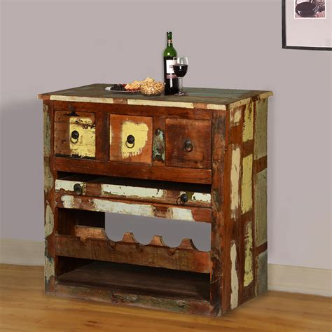 Rustic Liquor Cabinet by Rustic Reclaimed Wood Wine Rack Liquor Storage Cabinet