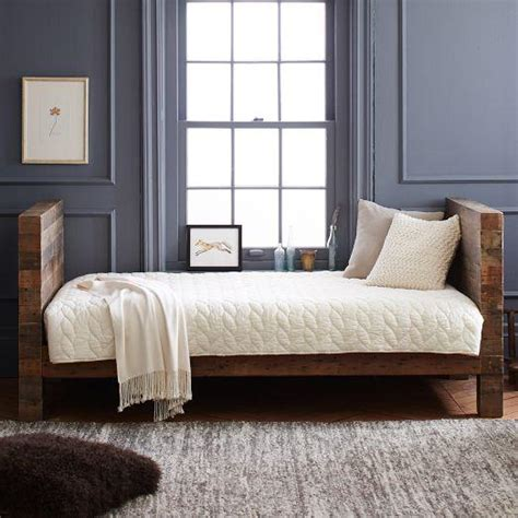 west elm day bed emmerson reclaimed wood daybed