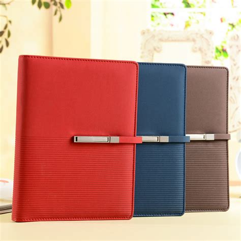 Agenda Book Binder ruize creative a5 leather notebook spiral planner agenda organizer 6 ring binder note book soft
