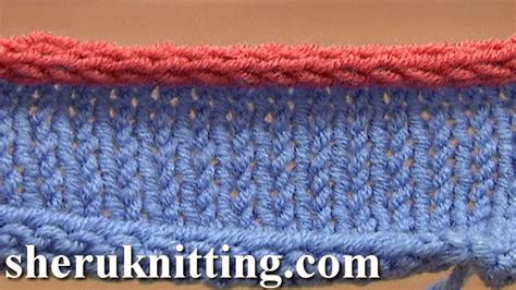 knitted i cord how to knit i cord bind tutorial 7 method 12 of 12