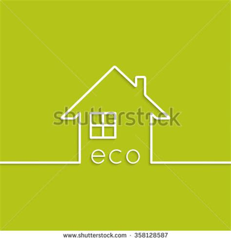 green house agency green house eco symbol vector illustration stock vector 210751642 shutterstock
