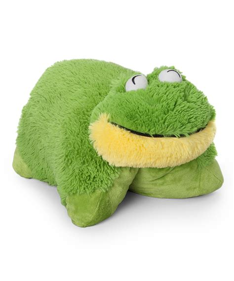 Frog Pillow by Pillow Pets Friendly Frog Pillow Pet Zulily